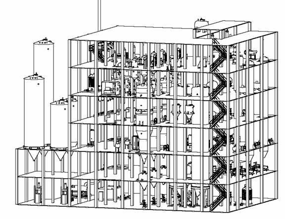 1.1. 1.2. одноэтажных зданий на основе ферм + бетонные колонны.